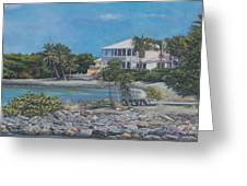 On The Way To St. John Greeting Card