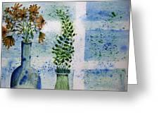 On The Windowledge Greeting Card