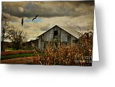On The Wings Of Change Greeting Card