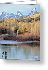 On Thin Ice Greeting Card
