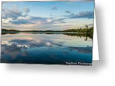 Onaping Reflections Greeting Card