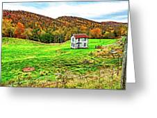 Once Upon A Mountainside 2 - Paint Greeting Card