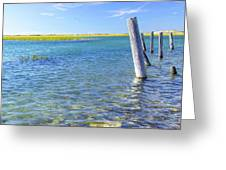Once Upon A Pier Greeting Card