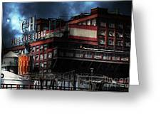 Once Upon A Time In The Sleepy Town Of Crockett California . 5d16760 Greeting Card