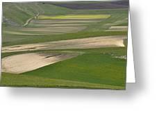 Parko Nazionale Dei Monti Sibillini, Italy 9 Greeting Card
