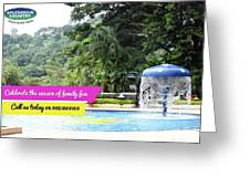 One Day Picnic Spot In Pune For Rainy Season Splendour Country Greeting Card