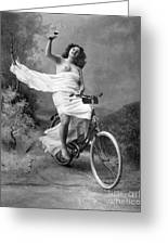 One For The Road, C1900 Greeting Card