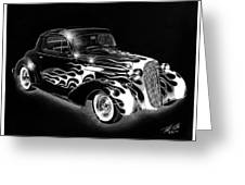 One Hot 1936 Chevrolet Coupe Greeting Card