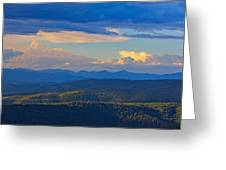 One Hour Before Sunset Greeting Card
