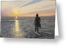 One Last Paddle Greeting Card