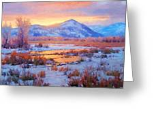 One Last Winters Eve Greeting Card