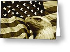 One Nation  Greeting Card