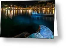 One Night In Portofino - Una Notte A Portofino Greeting Card