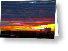 One Of The Prettiest Sunrises Greeting Card