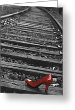 One Red Shoe Greeting Card