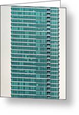 One Rincon Hill Building In San Francisco, California Greeting Card