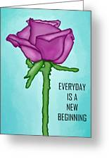 One Rose Everyday Greeting Card