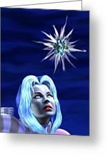 One Starless Night Greeting Card