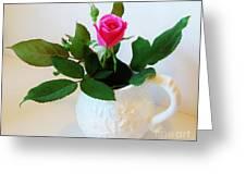 One Sweet Rose Greeting Card