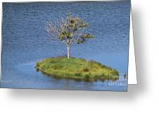 One Tree Island Greeting Card