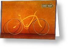 One Way 2 Greeting Card