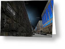 One Way Or Another Greeting Card by Joe Hickson
