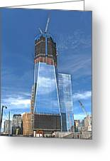 One World Trade Greeting Card