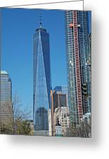 One Wtc 2016 Greeting Card