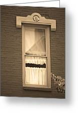 Jonesborough Tennessee - One Window Greeting Card