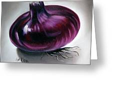 Onion Greeting Card