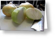 Onions I Greeting Card