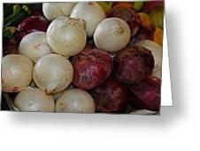 Onions IIi Greeting Card