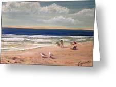 Onslow Beach Greeting Card