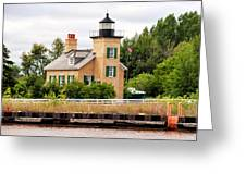 Ontonagon Lighthouse Greeting Card