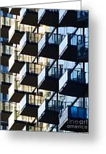 Tiered Balconies Greeting Card