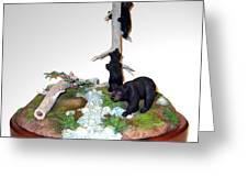 Opal Creek Bears Greeting Card