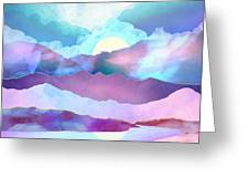 Opal Mountains Greeting Card