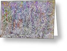 Opalescent Greeting Card by Don  Wright