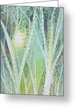 Opalescent Twilight I Greeting Card