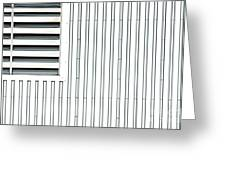 Open Air Grating Greeting Card