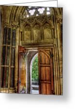 Open Doors Greeting Card