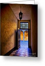 Open Doorway Greeting Card