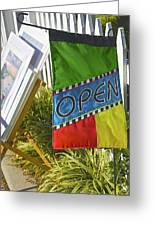 Open In Lewis Delaware Greeting Card