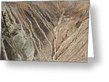 open pit mine Kennecott, copper, gold and silver mine operation Greeting Card