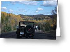 Open Road Greeting Card