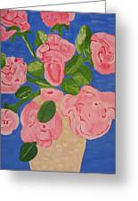 Open Roses I Greeting Card