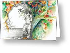 Open Your Eyes -the World Is Changing Greeting Card