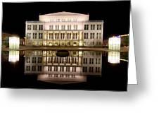Opera - Leipzig Greeting Card