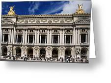 Opera Garnier. Paris. France Greeting Card