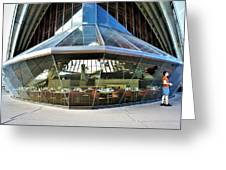Opera House Cafeteria Greeting Card